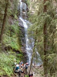 водопад иссык-куль