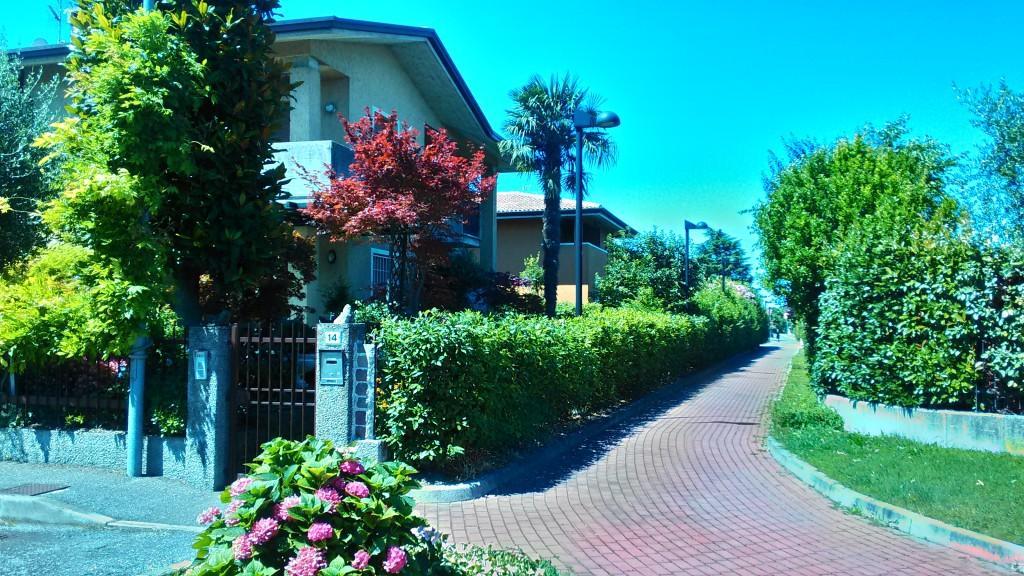Сирмионе - город и его окрестности на побережье озера Гарда в Италии