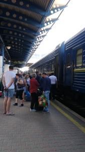 Путешествие на поезде в Киев (Украина)  - особенности и советы
