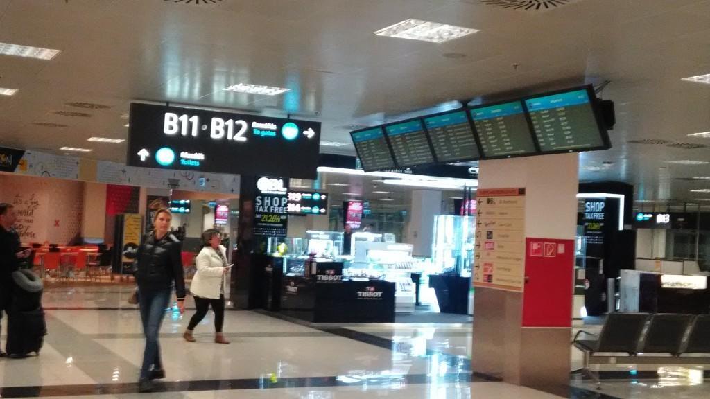 В аэропорте Будапешта