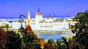 Вид на Парламент Венгрии с Рыбацкого бастиона
