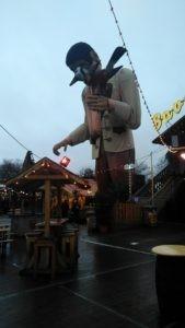 Рождественский парк аттрауционов в Гайд-парке