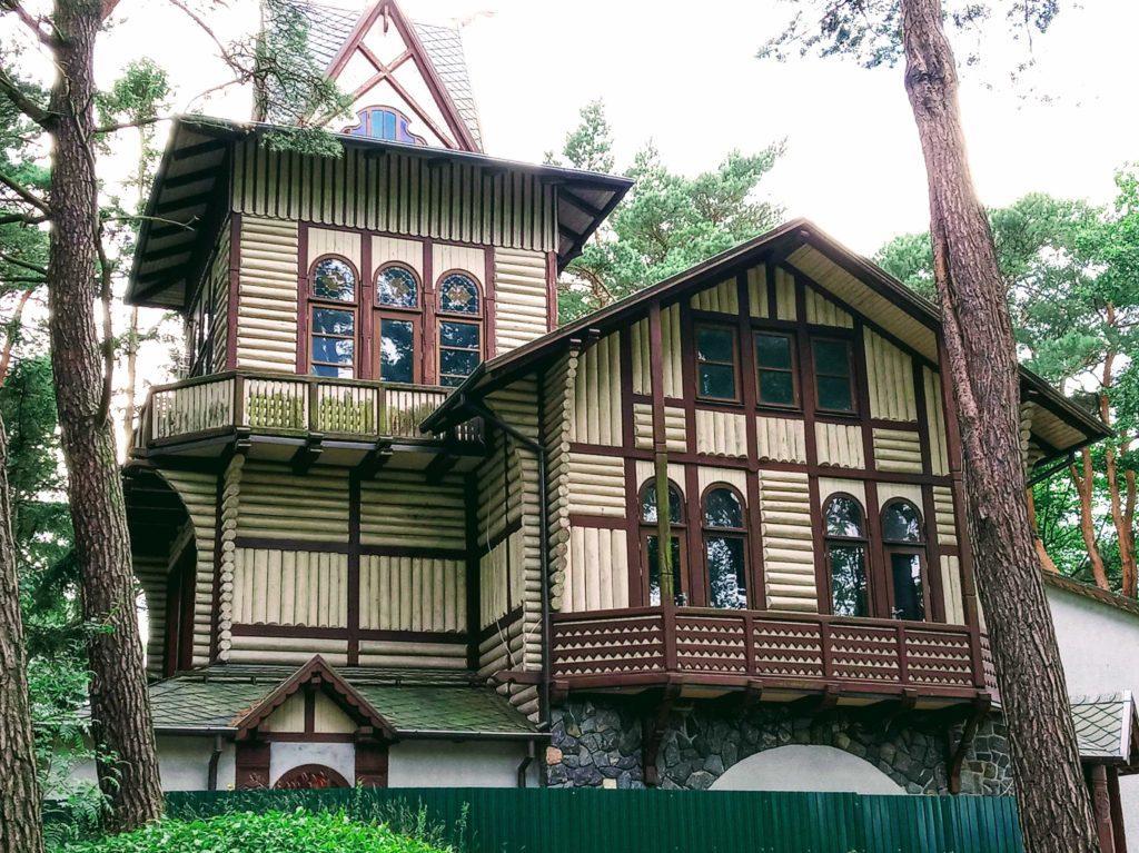 Дом звездочета, охотничий домик, Светлогорск