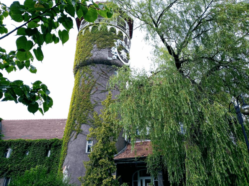 водонапоррная башня светлогорск, здание водолечебницы
