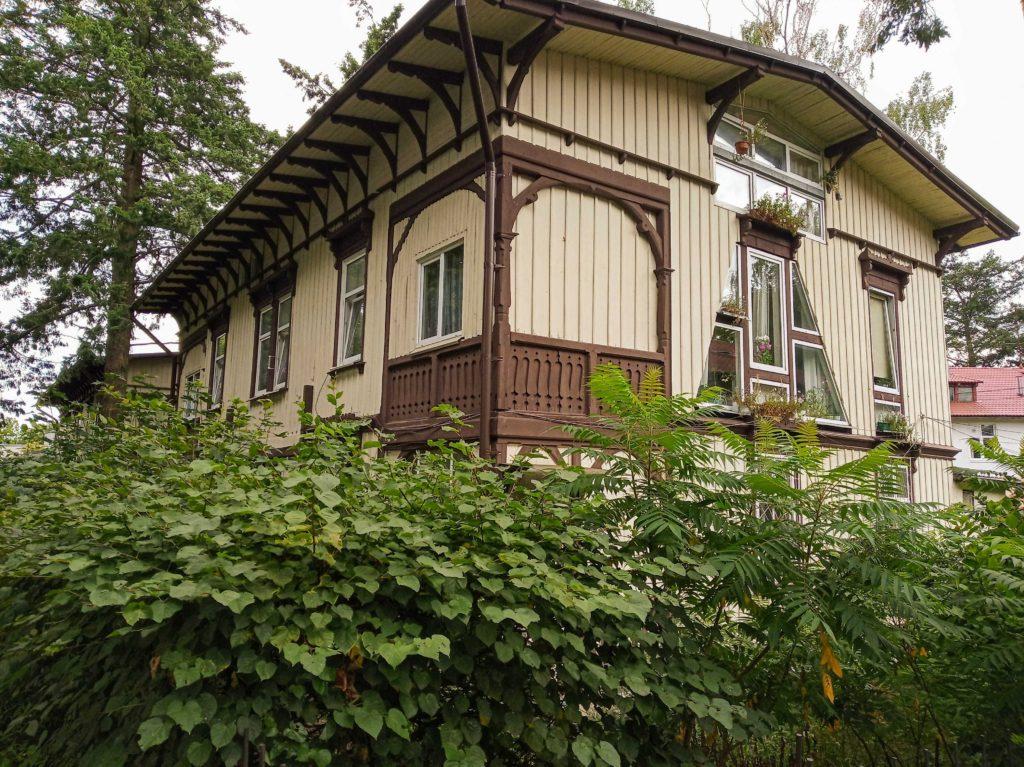 Дома в стиле фахтверк Светлогорск