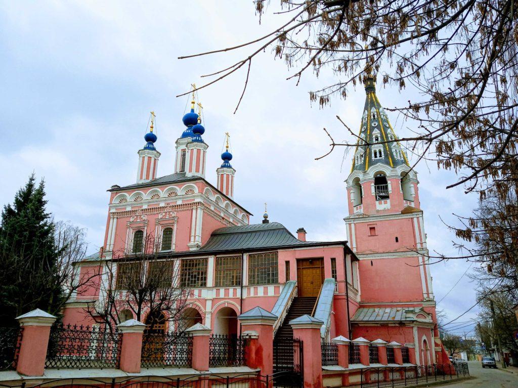 свято георгиевский храм калуга